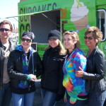 Cupcakes for Courage at Ride Janie Ride Event for Cancer Recipient Kathryn Pekarik