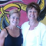 Andrea Pekarik Welch with Tracy Crave Fitness NE